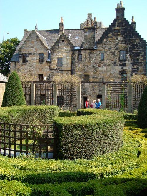 Provand's Lordship, the St Nicholas Garden, Glasgow, Scotland. Photo by Victor Naumenko