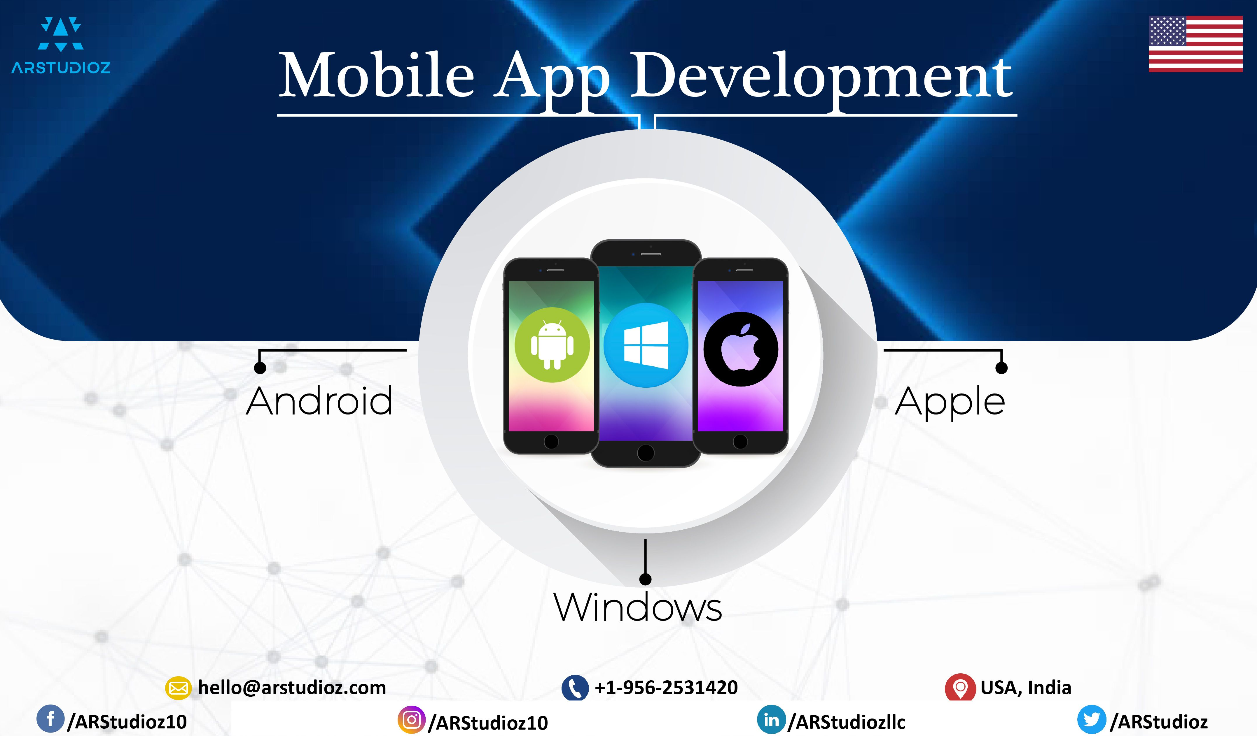 Arstudioz is known as a top mobile app development company