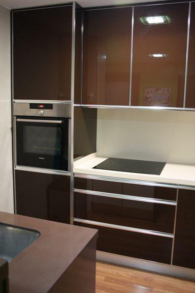 Columna Horno Y Lavavajillas Integrado Gabinetes Cocina Cocina Blanca Cocinas