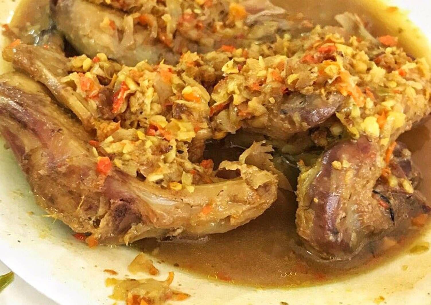 Resep Ayam Betutu Khas Gilimanuk Bali Oleh Cookiebakie Resep Di 2020 Resep Ayam Resep Masakan Resep