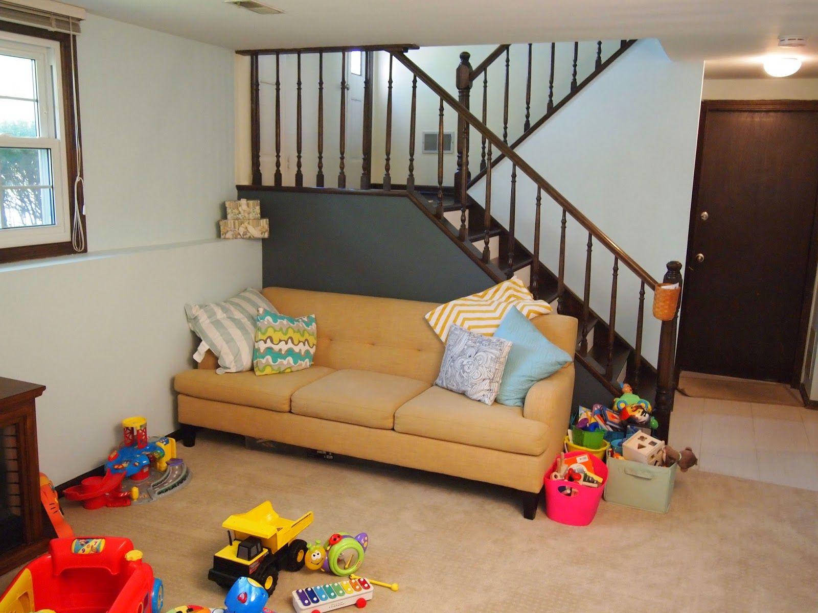 Raised Ranch Basement Ideas Model Stunning Raised Ranch Home Tour ~ Sparkles & Crafts  Basement  Pinterest . Design Decoration