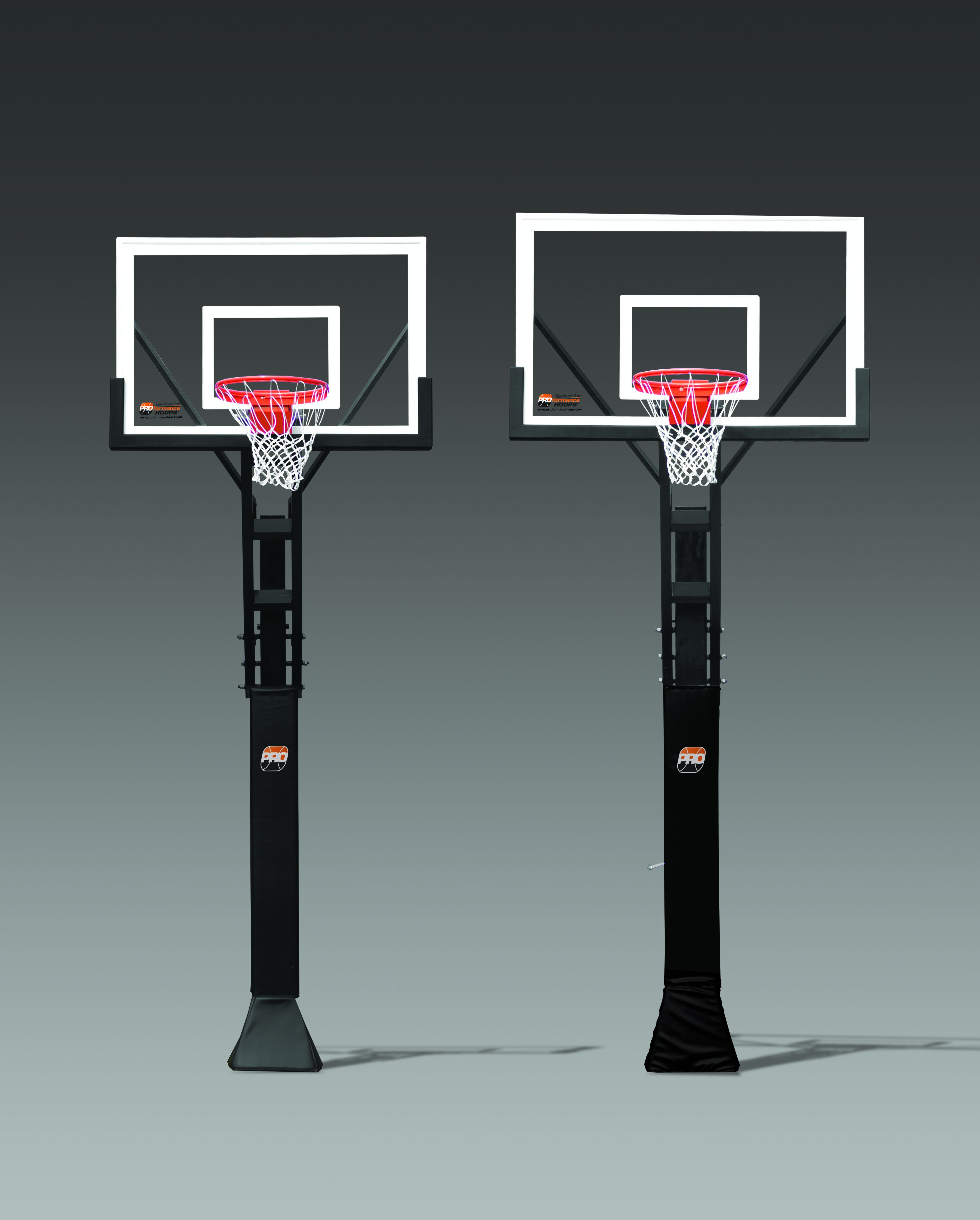 we also offer the proview series in both a 54 backboard and a 60