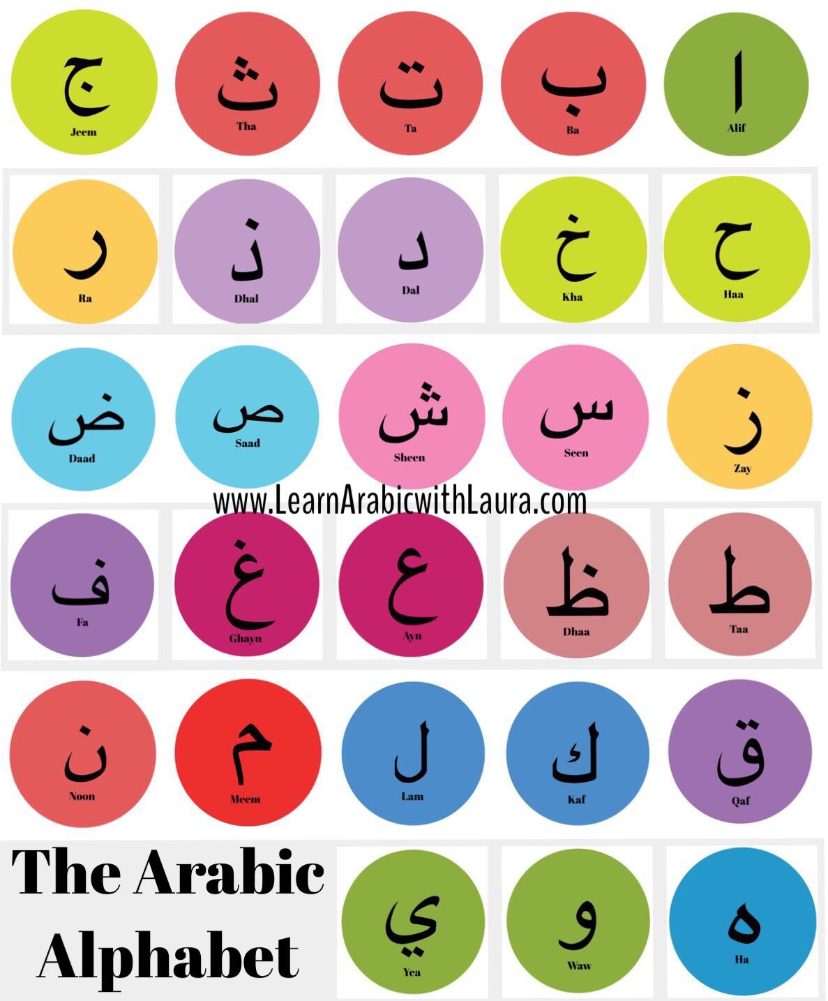 Pin By Laura Al Albani On Learn Arabic With Laura