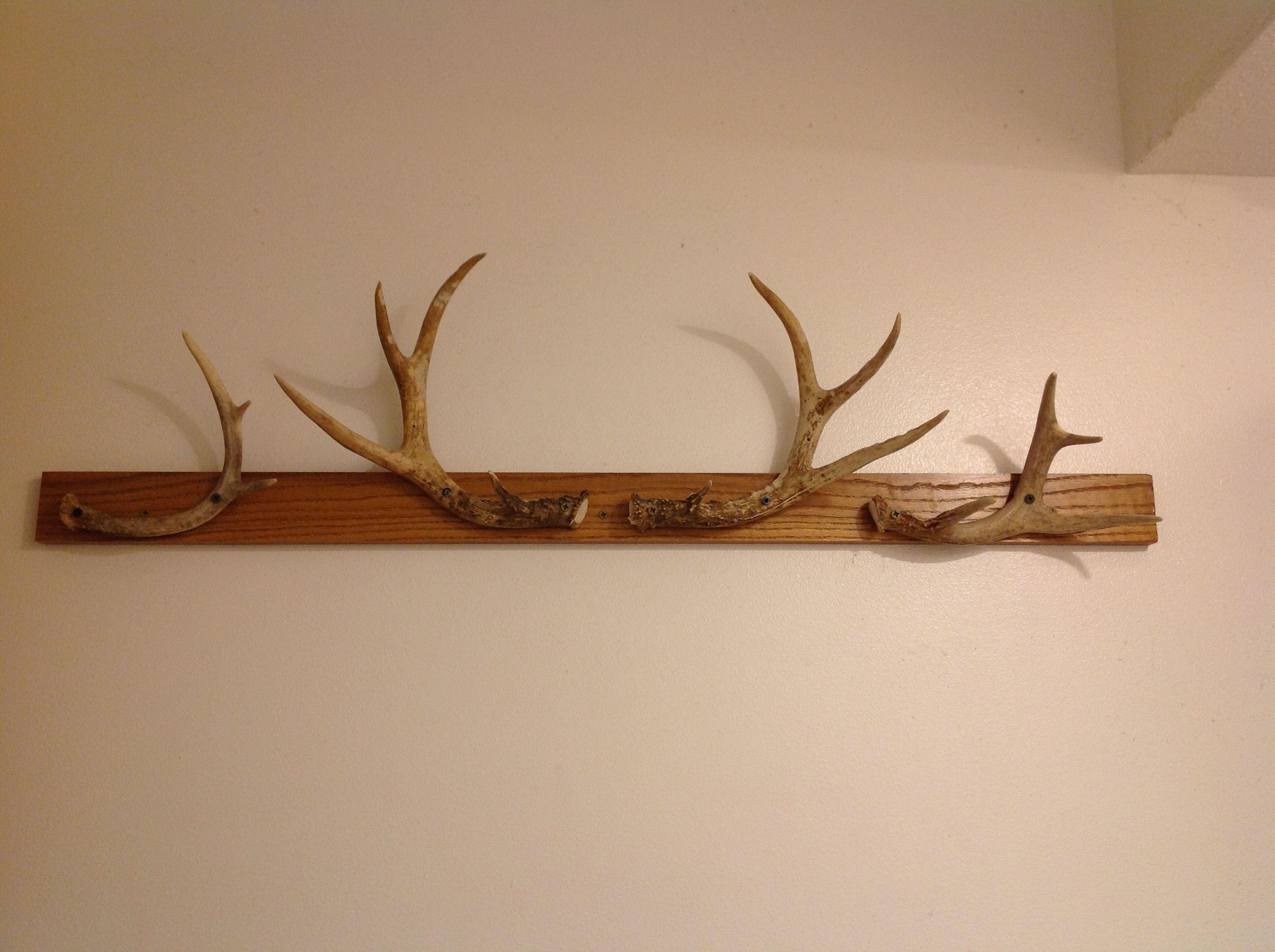 Antler Towel Rack Antlers Decor Deer Skull Decor Hunting