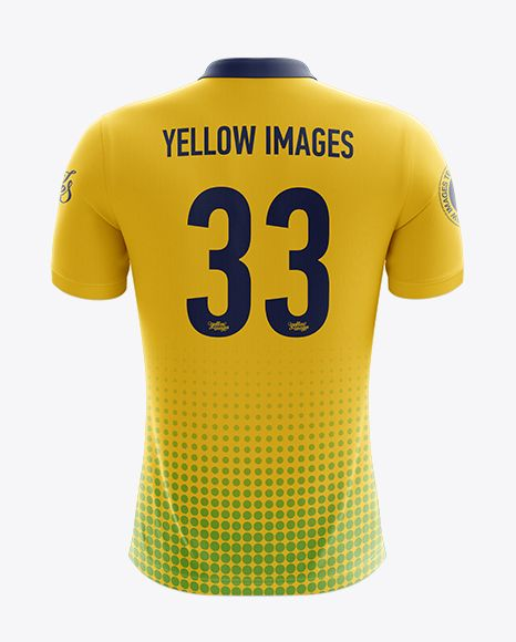 Download Men S Soccer Polo Shirt Mockup Back View In Apparel Mockups On Yellow Images Object Mockups Shirt Mockup Clothing Mockup Design Mockup Free