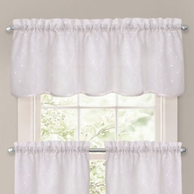 Crystal Brook Window Valance In White | Products | Valance ...