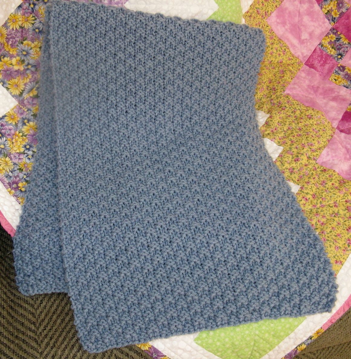 Knitted prayer shawl made by myself........KL | Prayer Shawl ...