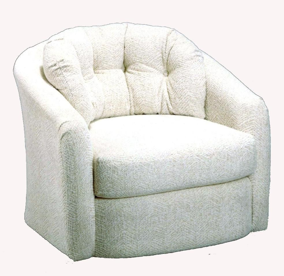 Best Home Furnishings Chairs  Swivel Barrel Sanya Chair Item Number 2468 by