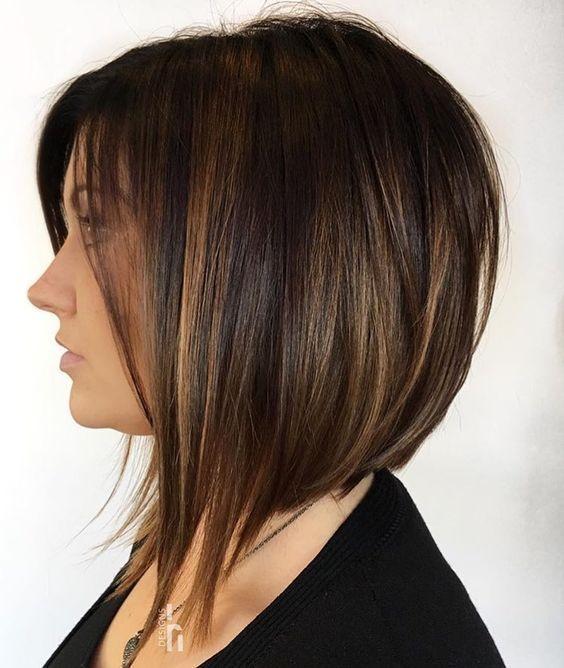 Inverted Bob Haircuts For Fine Hair Hair Styles Thick Hair Styles Angled Bob Haircuts