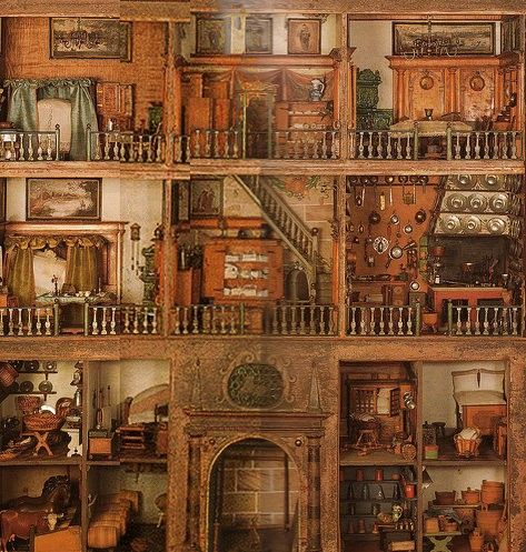 One Of The Oldest Dollhouses Currently Intact 1693 Collections