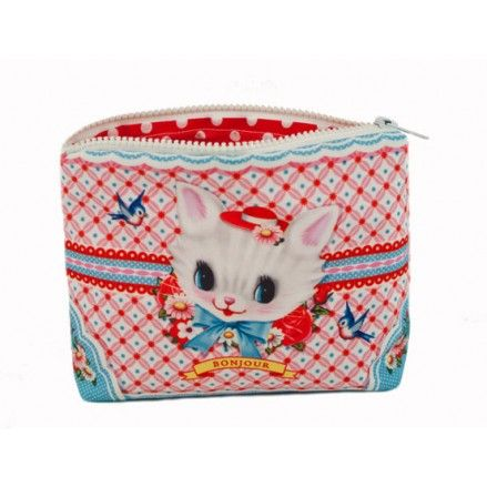 30b28e793c029 Makeup Bag Kitten Cat Makeup