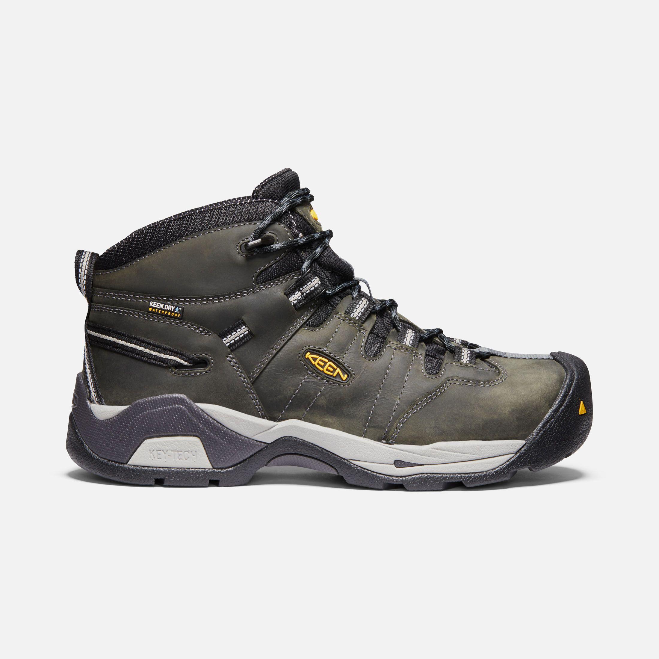 Keen Men's Waterproof Steel Toe Boots