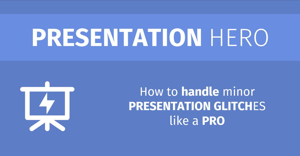 How do you handle a glitch during a presentation? http://fbbr.co/17q