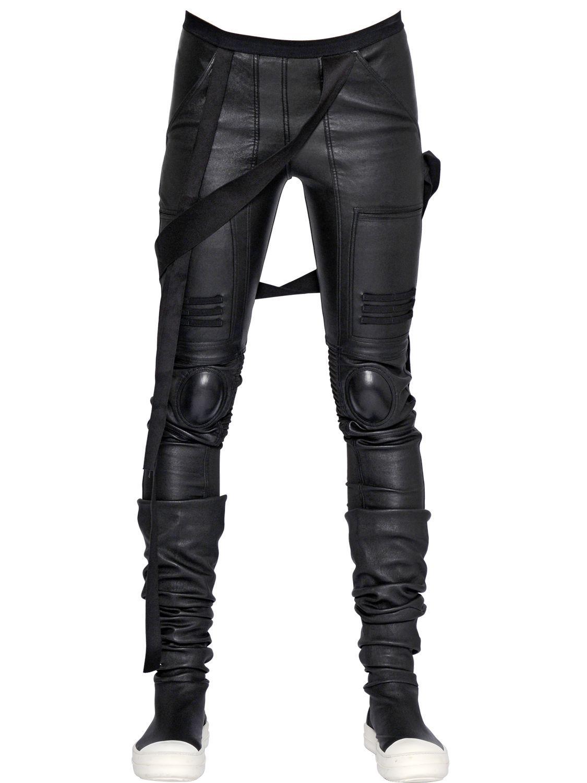 Stretch-leather leggings Rick Owens 5cKPqq