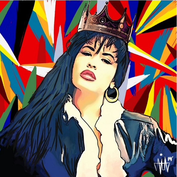 This Beautiful Selena Inspired Fan Art Will Blow Your Mind Selena Quintanilla Perez Selena Quintanilla Selena