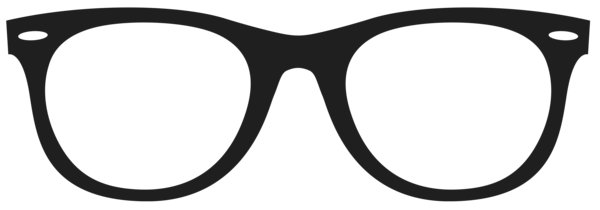 Png Black And White Library Nerd Glasses Clipart Transparent Png (#2610713)  - PinClipart