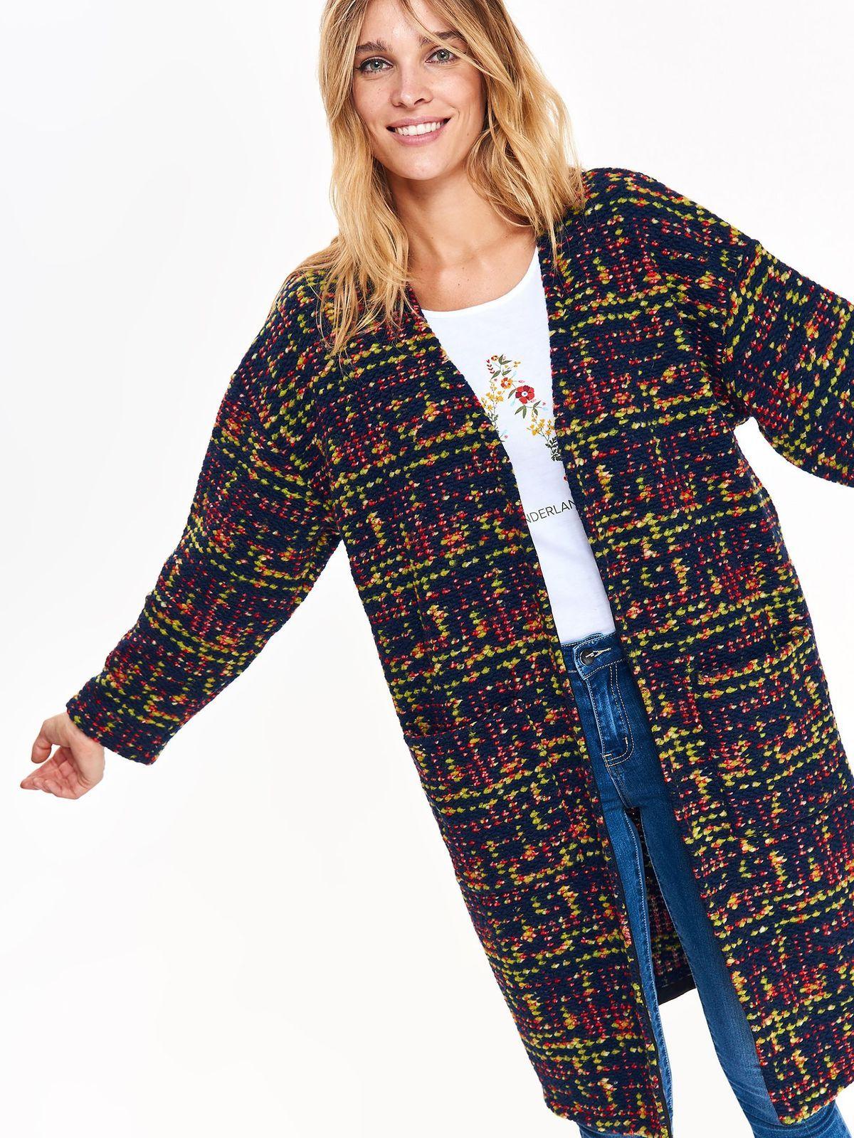 1c4ebd56d5726 Płaszcz damski kolorowy - SPZ0488 płaszcz - TOP SECRET - Odzieżowy sklep  internetowy TOP SECRET