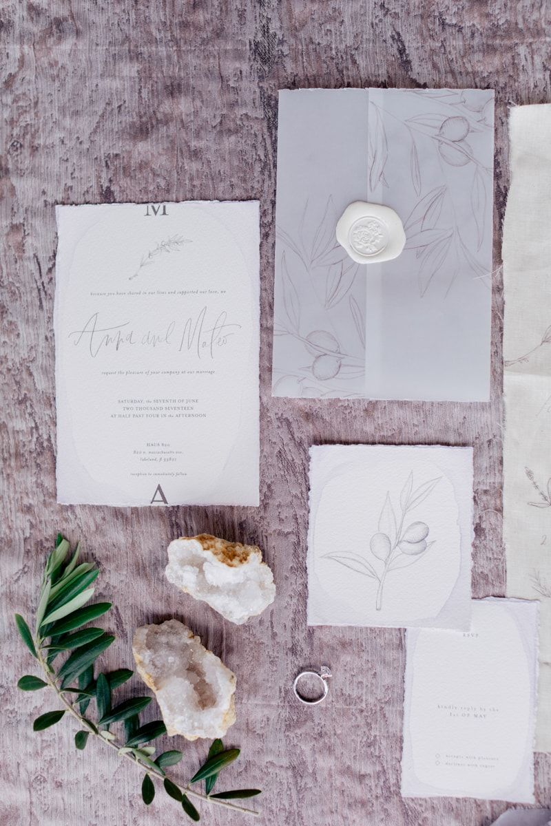 invitation suite from MONOCHROMATIC WEDDING INSPIRATION: http://www ...