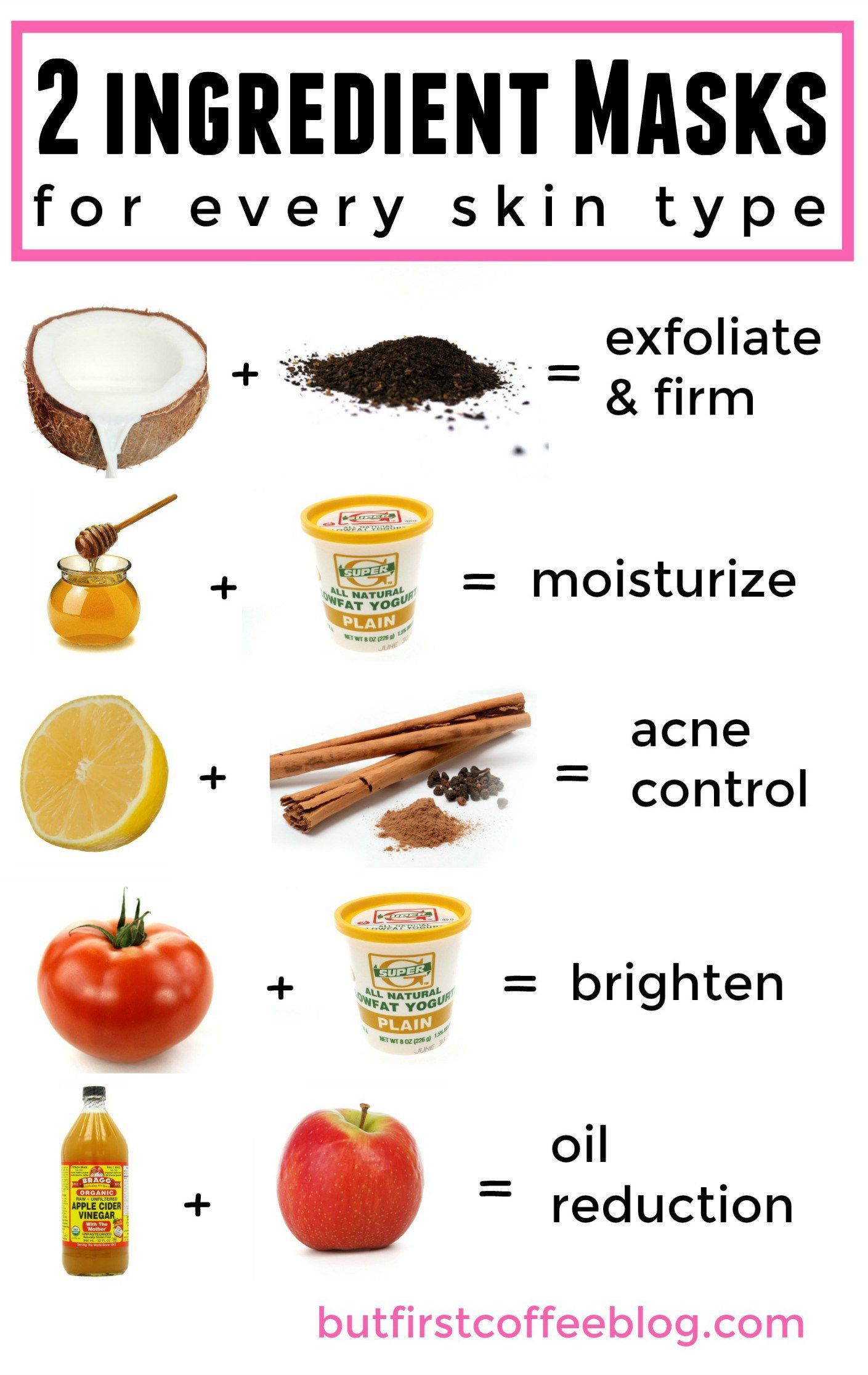 4 DIY Hair Masks for Every Hair Type At home face mask