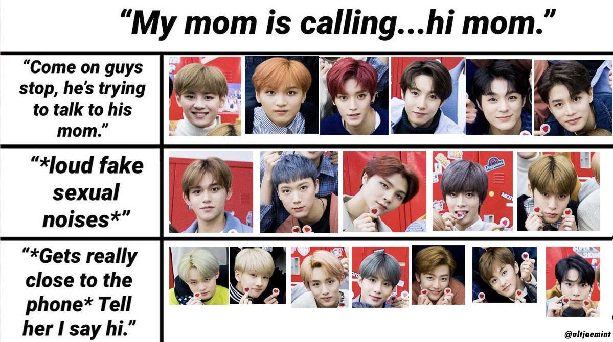 Pin By Paige On Nct Meme Board Nct Funny Kpop Memes Nct 127