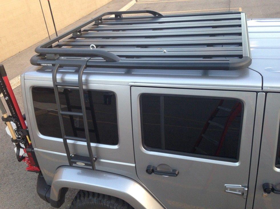 jeep wrangler interior roof rack
