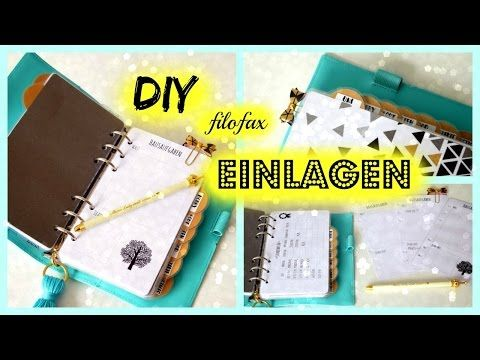 DIY Filofax Einlagen, Filofaxblätter, Printables mit picmonkey, word ...
