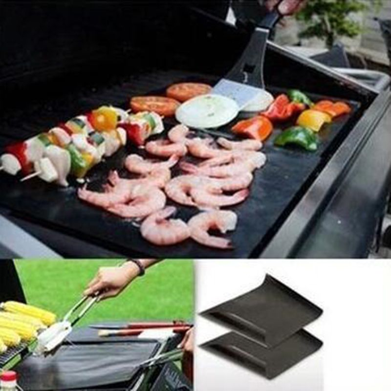 Ptfe Non Stick Bbq Grill Mat Barbecue Baking Liners Reusable