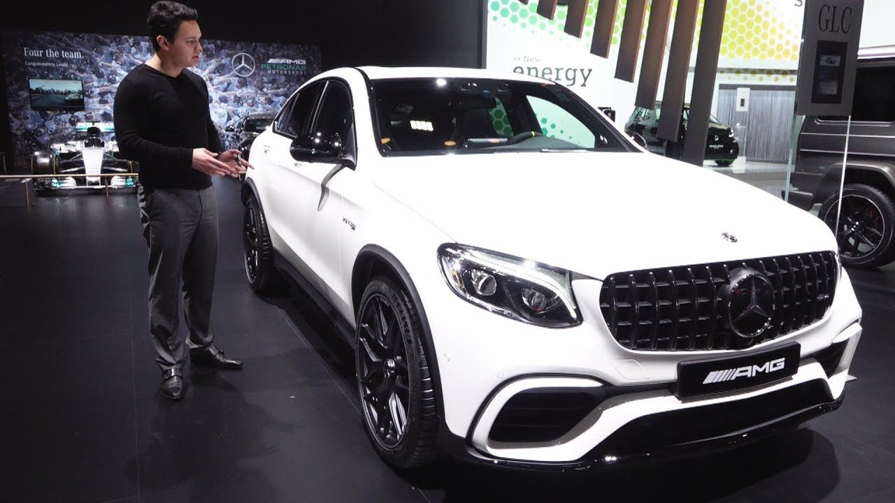 2018 Mercedes Amg Glc 63 S Coupe New Full Review Interior