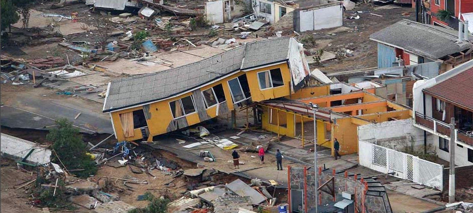 Terremoto Y Tsunami De Chile Terremoto En Chile Terremoto Desastres Naturales