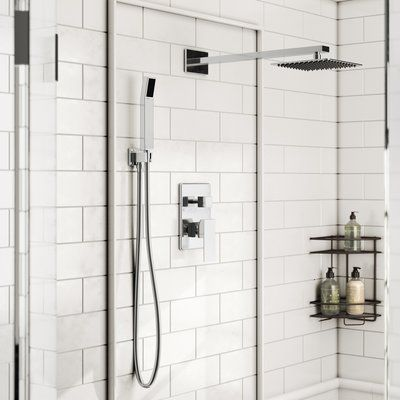 Rebrilliant Cahoon Diverter Complete Shower System With Rough In