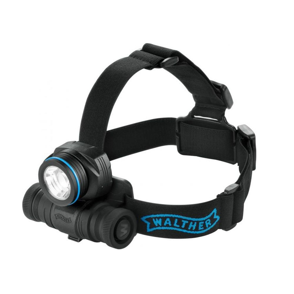 Walther PRO HL 17 - LED Stirn-Lampe mit max. 235 Lumen | SECURITY ...
