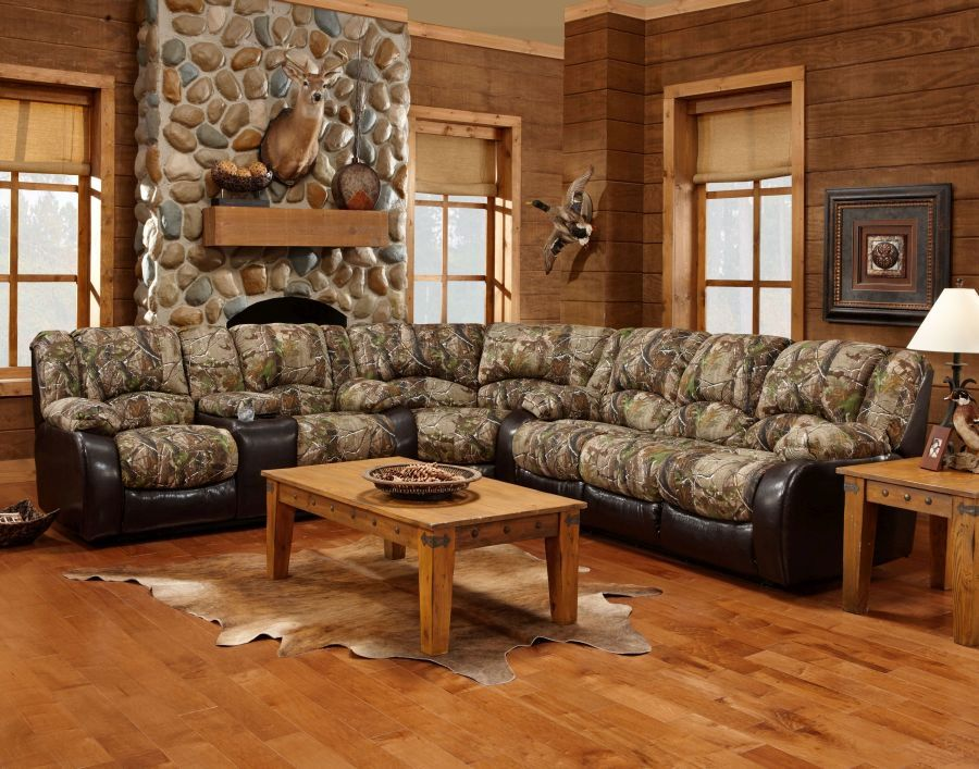 Check out this set up, @Realtree sectional... going on the ...