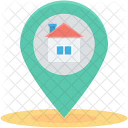 Home Location Icon Of Flat Style Available In Svg Png Eps Ai Icon Fonts Location Icon Icon Font Icon