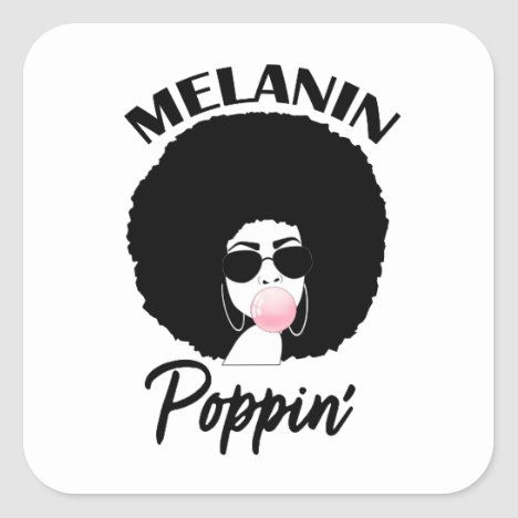 Melanin Afro Woman Shades Drippin Melanin Poppin Black Girl Magic Sticker By Logia Merch In 2021 Black Girl Quotes Drawings Of Black Girls Black Girl Magic Art