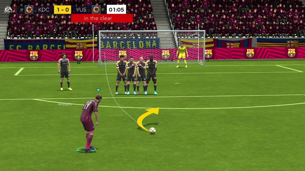 FIFA 20 MOBILE OFFICIAL ReviewGameplayKQL Walkthrough