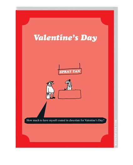 Modern Toss Valentine S Day Card Spray Tan Moderntoss