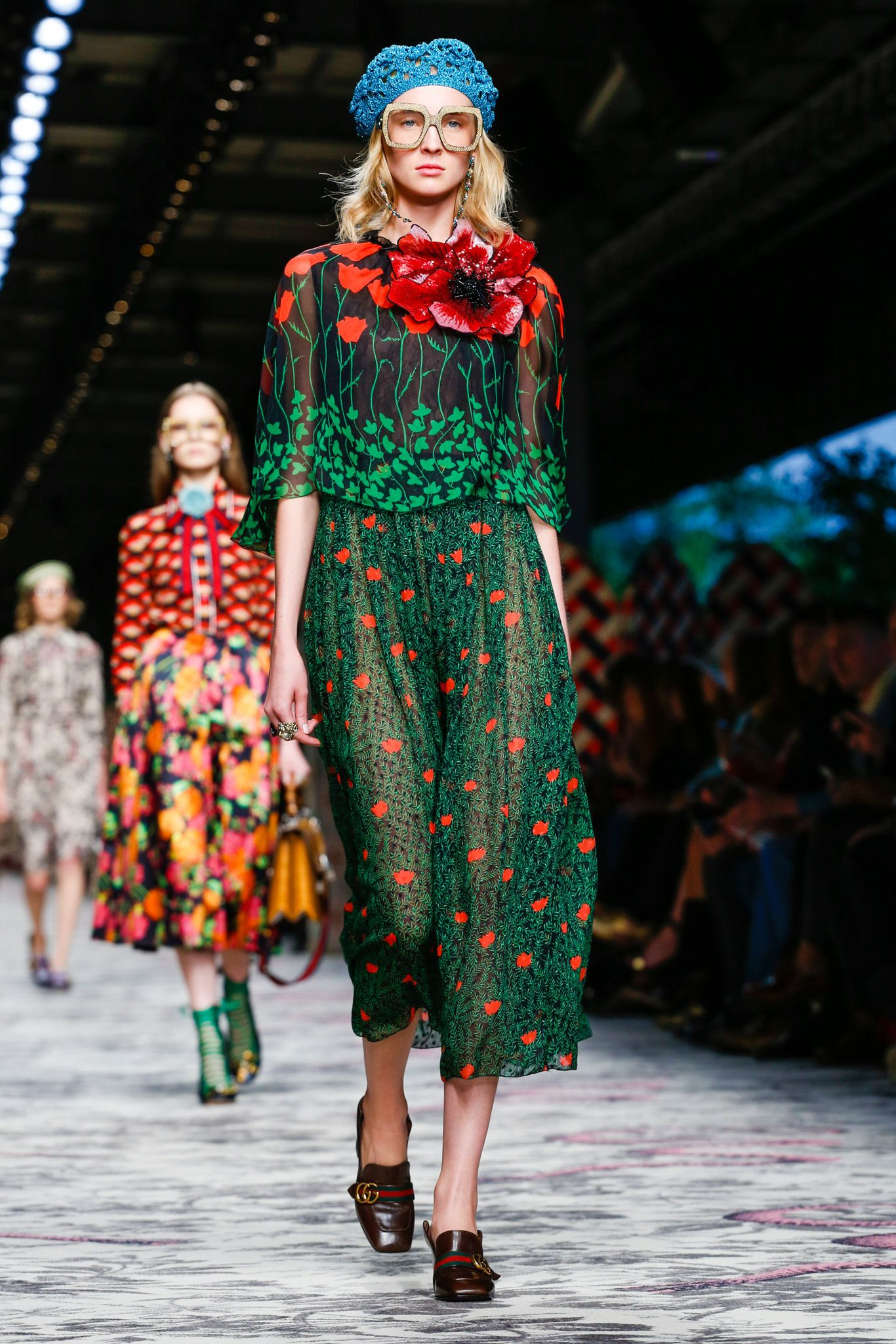 A look from the gucci spring summer 2016 show during milan for Milan show 2016