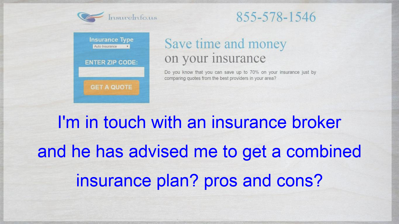 basically, a combined insurance with a term insurance and