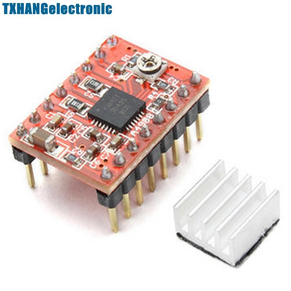 Integrated Circuits Reprap Stepper Driver A4988 Motor Driving Circuit Module With Heat Sink Yesterdays Price Us 130 113 Eur