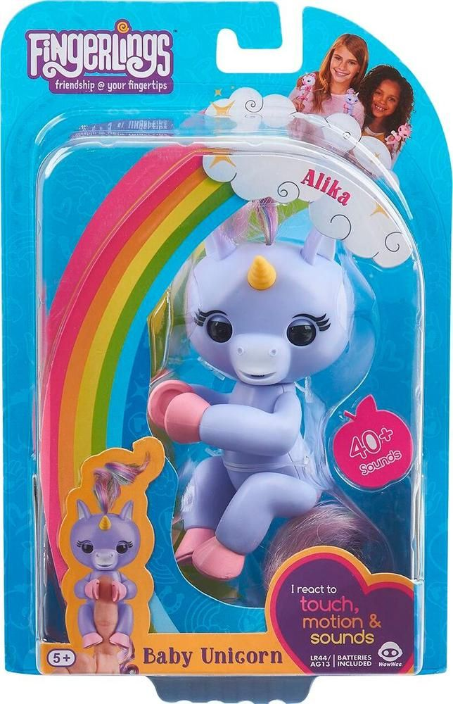 Best Buy Wowwee Fingerlings Baby Unicorn Alika Purple 3709 Baby Unicorn Toys For Little Kids Advent Calendars For Kids
