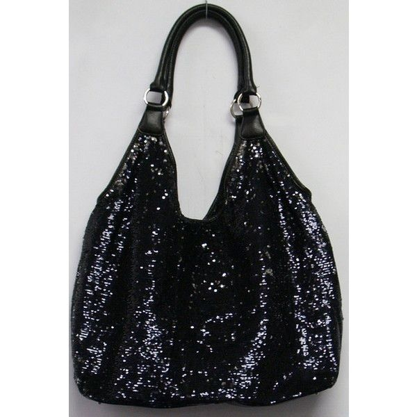 6958cbf918 Joan Boyce Sequin Bag found on Polyvore featuring polyvore
