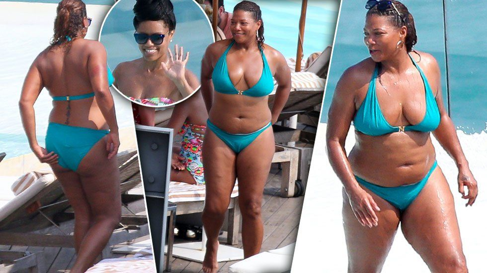 queen latifah in a bathing suit