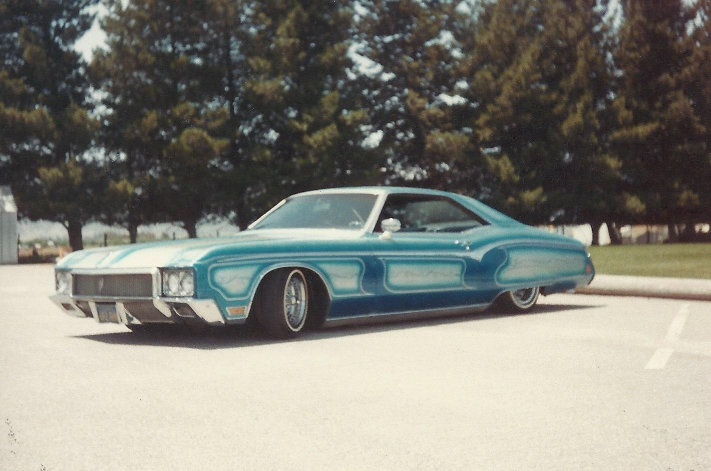 My 1970 Riviera in the early 80s... Zz Top Dad