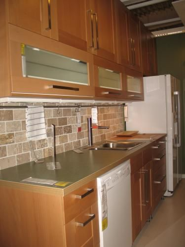 Beech Kitchen Cabinets, Adel Kitchen Cabinets