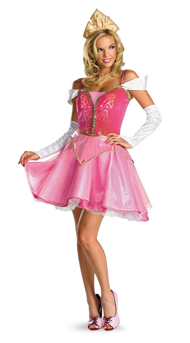 Aurora Costume Adult Sleeping Beauty Princess Halloween Fancy Dress