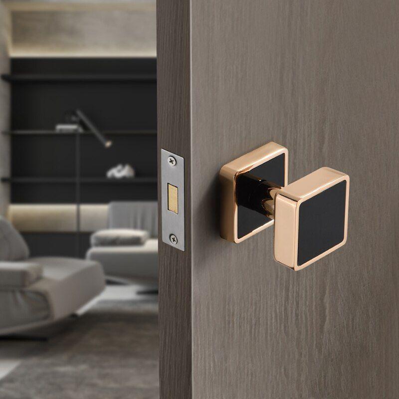 European Style Zinc Alloy Invisible Door Lock Background Wall Hidden Door Handle Single Sided Door L In 2020 Invisible Doors Furniture Handles Simple Furniture