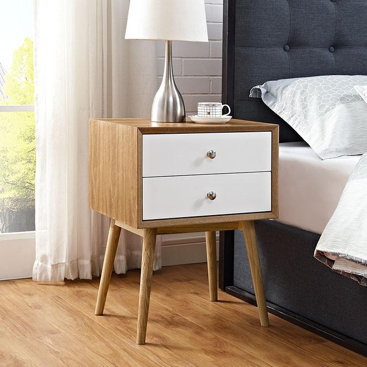 Debra Retro Nightstand Bedroom Night Stands Furniture