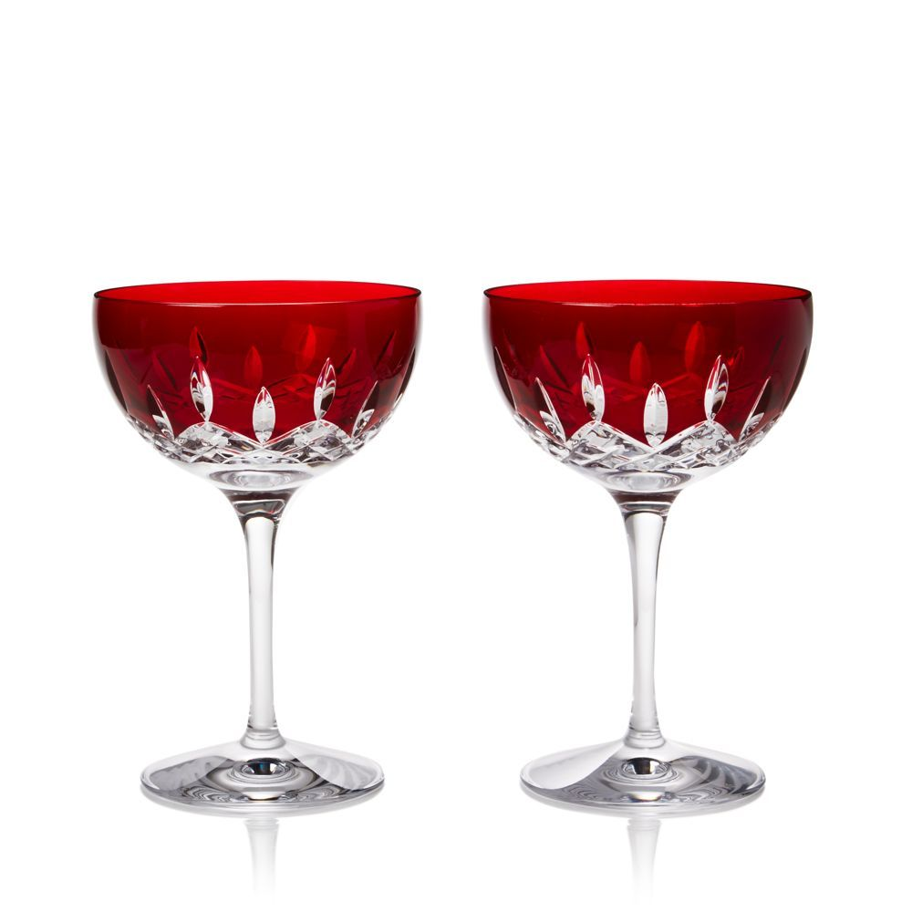 Waterford Lismore Pops Cocktail Glass Set Of 2 Waterford Lismore Lismore Cocktail Glass