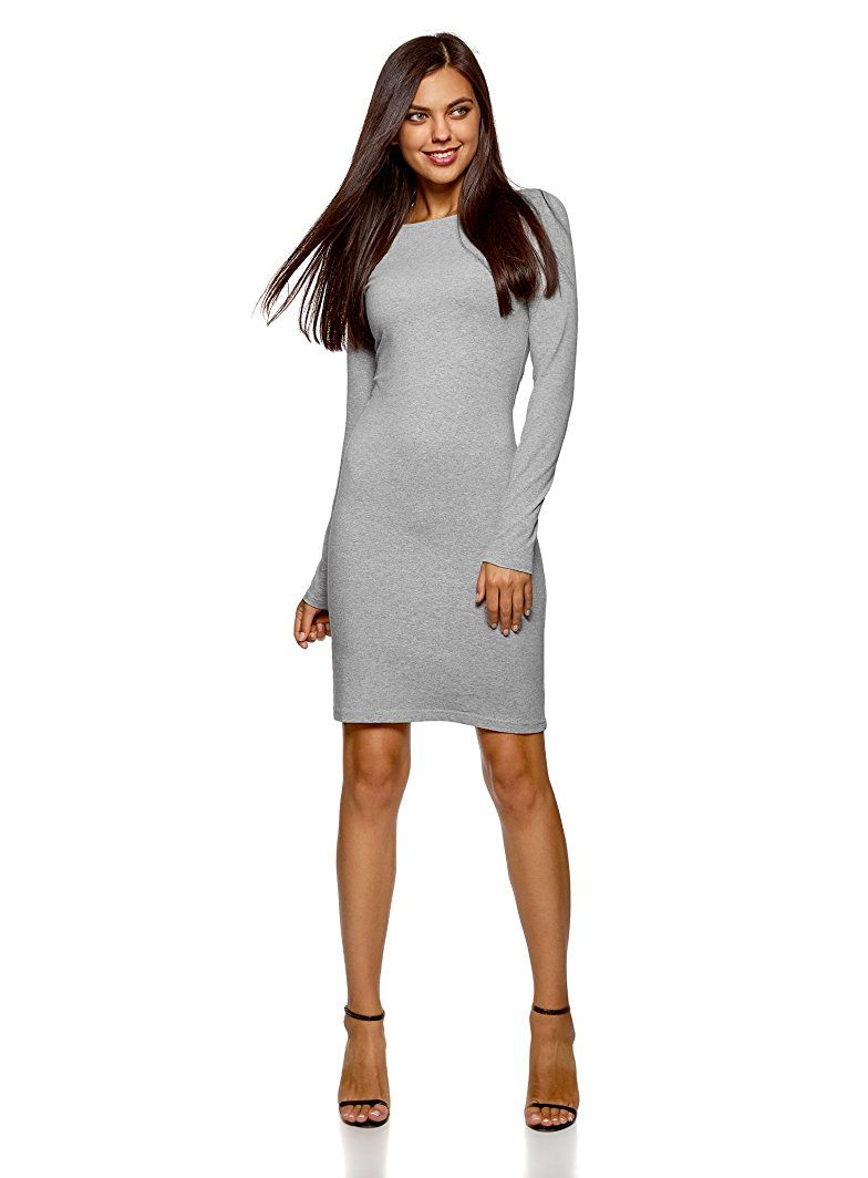 2650f587a43 Shoppen Sie oodji Ultra Damen Enges Kleid - silvester outfit damen  silvester outfit frauen silvester ideen