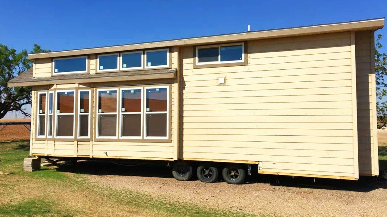 Adorable Tiny House On Wheels For Sale In Texas Tiny House